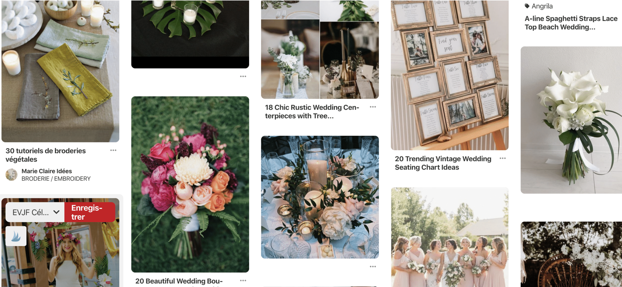 Pinterest Blog Wedding Planner
