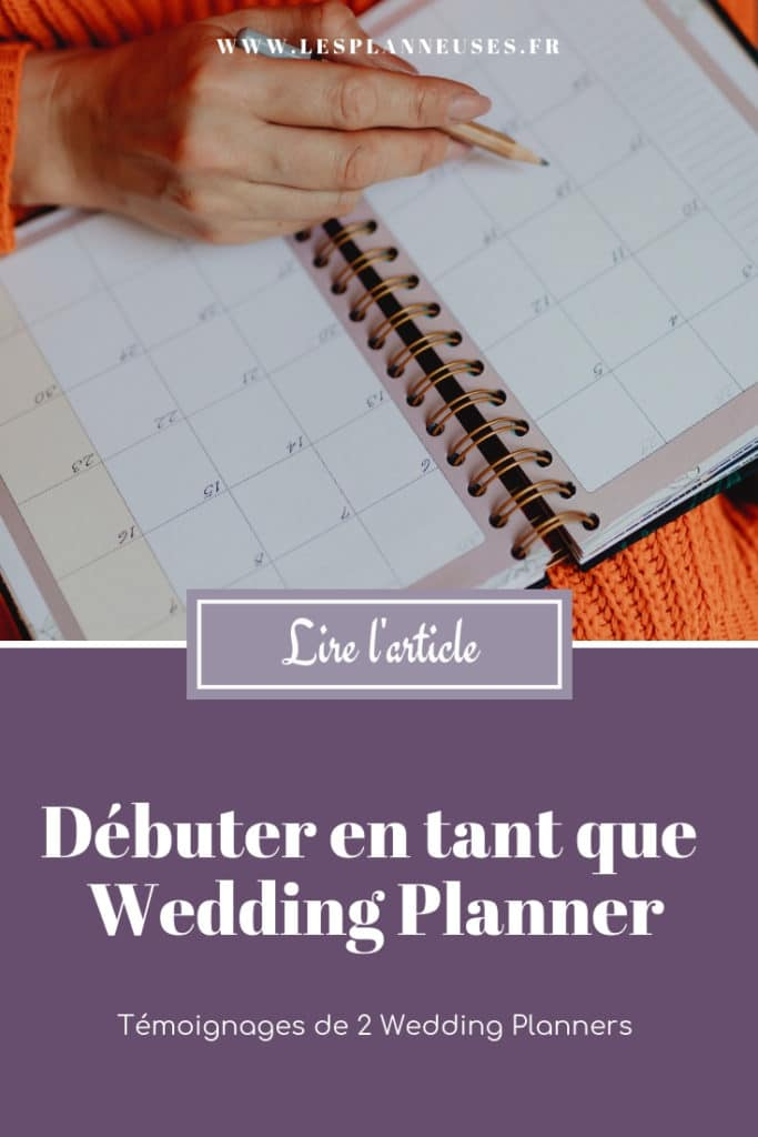 Le métier de wedding planner - LesPlanneuses Blog Wedding Planner