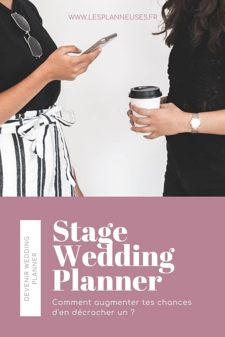 stage de wedding planner